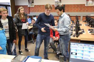 Einweihung des neuen PC-Raumes mit Zertifikatsübergabe zum Informatik Biber-Wettbewerb