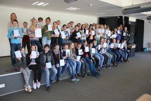 Die Teilnehmer des HEUREKA!-Wettbewerbs