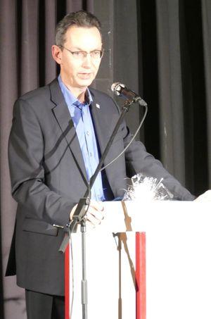 Abschiedsworte von Herrn Sternbeck als Bürgermeister der Stadt