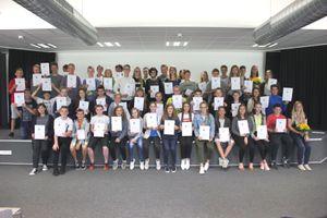 Das Team des Schulsanitätsdienstes der KGS Neustadt