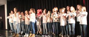 Auftritt der Chorklasse