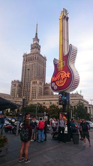 Nochmal Warschau