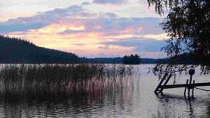 Das Abschlussfest wurde am Katumajärvi-See in Hämeenlinna gefeiert