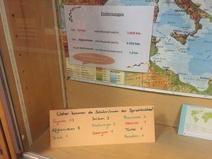Herkunftsländer unserer Sprachlernschüler
