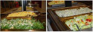 Das immer frische Salatbuffet
