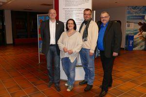 Der neue Vorstand des Schulelternrates; v.r.n.l A. Schöling, T. Lunitz und Gudrun Schwarz